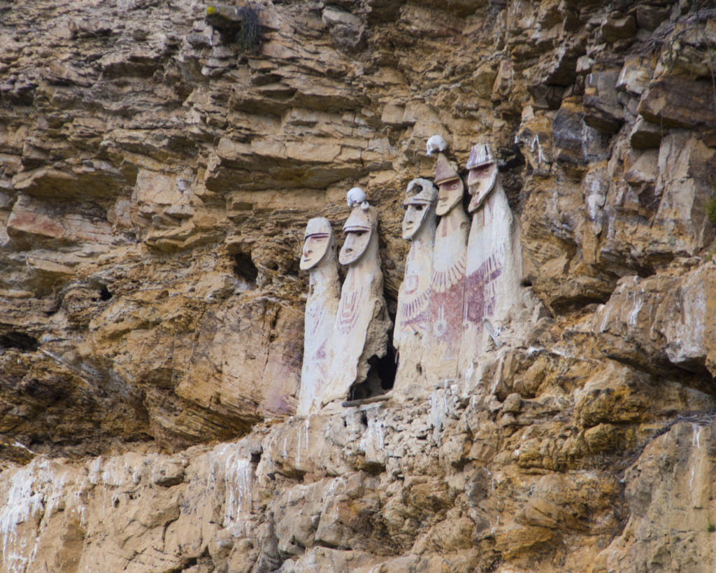 カラヒアの石棺©ペルー政府観光庁
