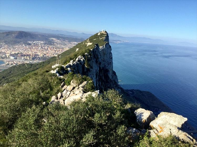 スペイン南部、海峡に突き出た英領ジブラルタル はじっこ紀行02
