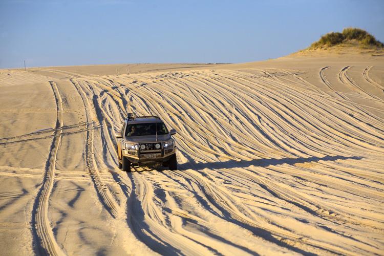 ペンバートン郊外の砂丘