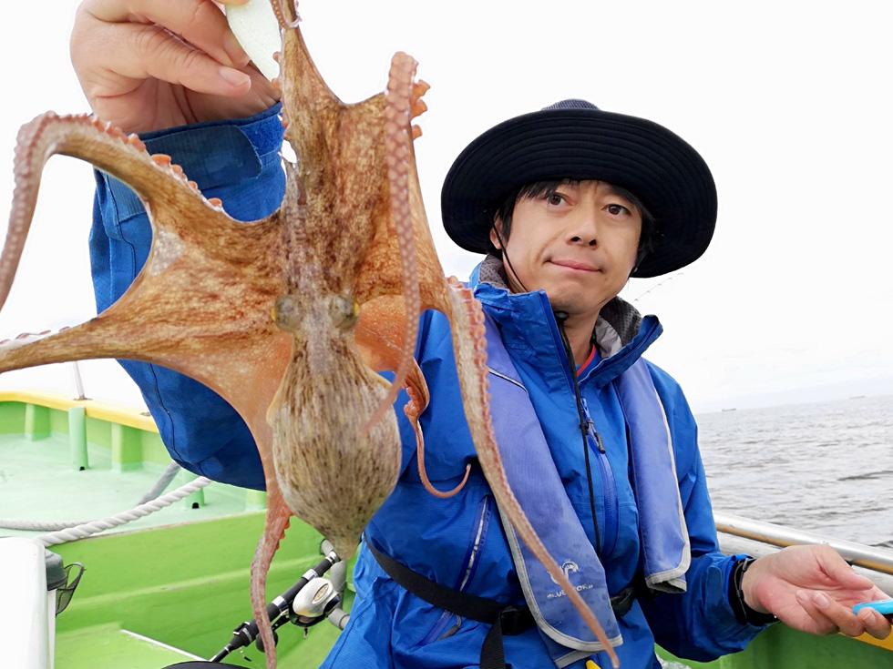 湾 タコ 釣り 東京