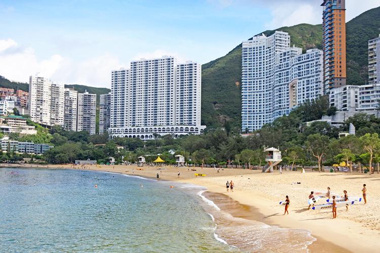 香港のビーチリゾートは御利益付き? 市街地観光に疲れたら