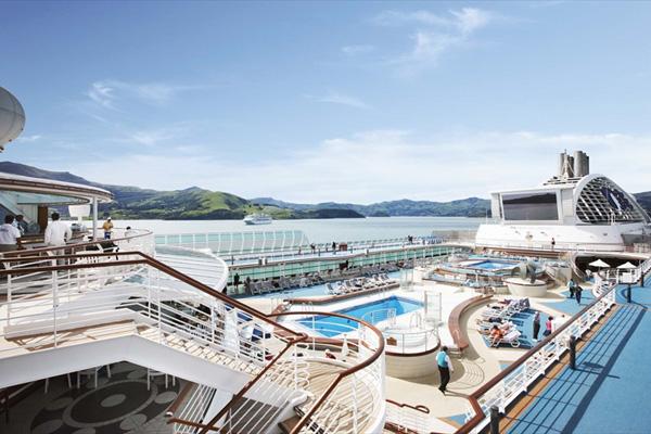 2020年の夏、進化する横浜港から釜山や熊野を巡る「サン・プリンセス」のチャータークルーズ実施