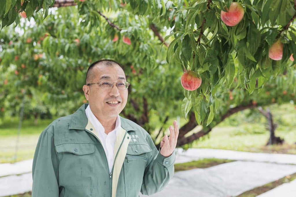 極上の味わい 桃の王様あかつき ここにも ふくしま。#3