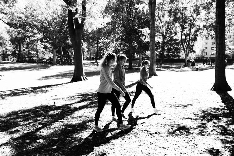 (20)光の中から現れた3人 永瀬正敏が撮ったセントラルパーク