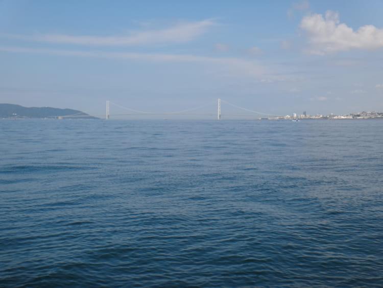 船からキス釣り、うっかり居眠り、釣果は?! 神戸市須磨区