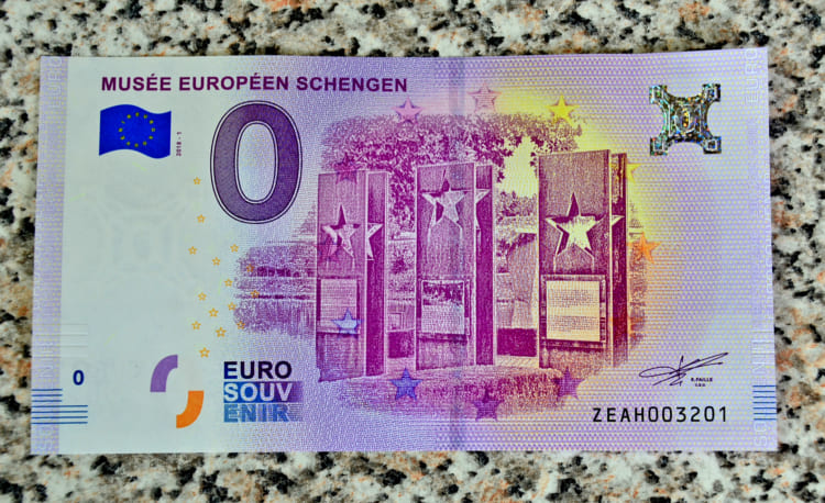 2ユーロで0ユーロを買う? 平和の象徴 ルクセンブルク・シェンゲン