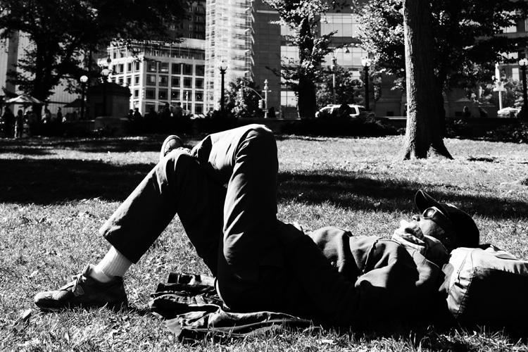 (28)永瀬正敏が撮った「幸せな瞬間」 ニューヨークのセントラルパークで