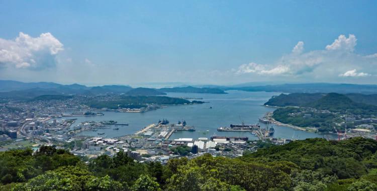 九十九島、バーガー…… 軍港の街佐世保の絶景とグルメ