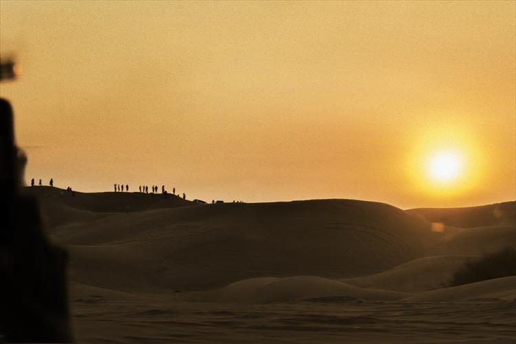 ドバイ、悠久のときを感じる砂漠の景色