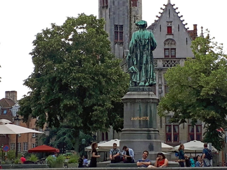 減量中なのにディナー完食 「神の手」に驚嘆 ベルギー・オランダ紀行(1)ブルージュ