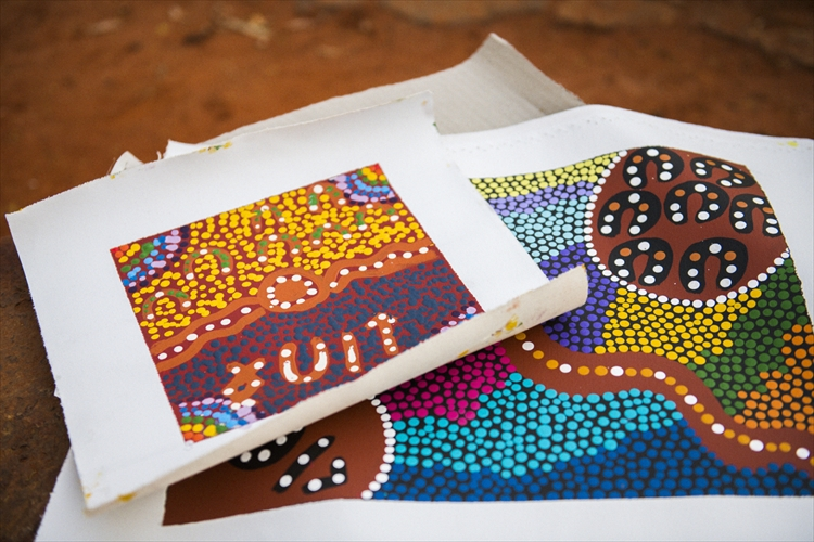 オーストラリア先住民が描くアートに魅せられた