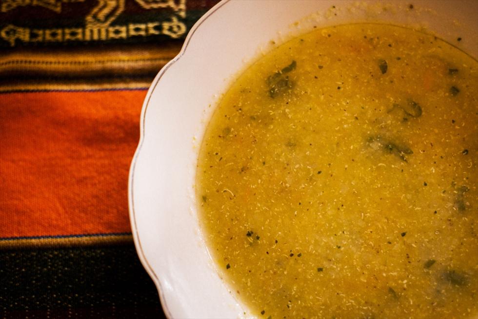 ペルー滞在中、毎日飲んだスープ