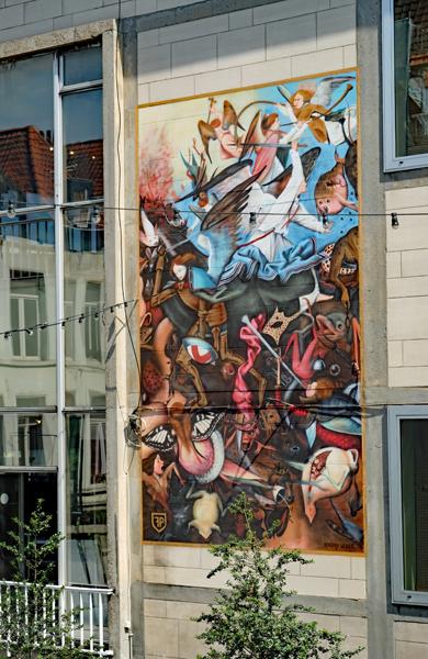 フグ、ここにいたのか! フレンチフライの源流は ベルギー・オランダ紀行(3) ブリュッセル