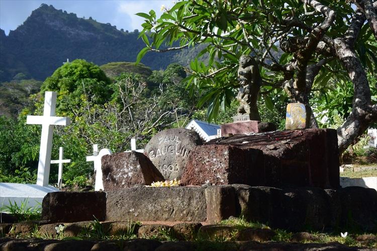ゴーギャンとブレルが眠る、マルケサス諸島ヒバオア島