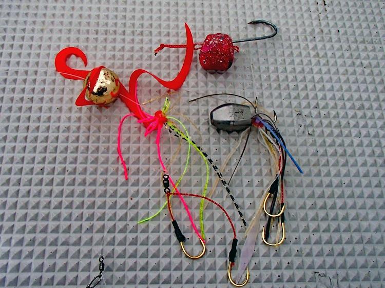 桜色のハナダイが乱舞 遊動テンヤで数釣りを楽しむ 千葉県旭市・飯岡港