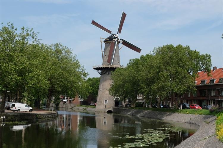 世界有数の高さの風車へ突撃 ベルギー・オランダ紀行(4) ストレーフケルク~スキーダム