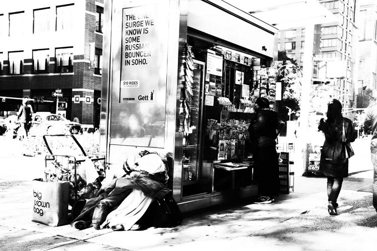 (40)この光景を、撮らざるを得ない自分がいた マンハッタンの永瀬正敏