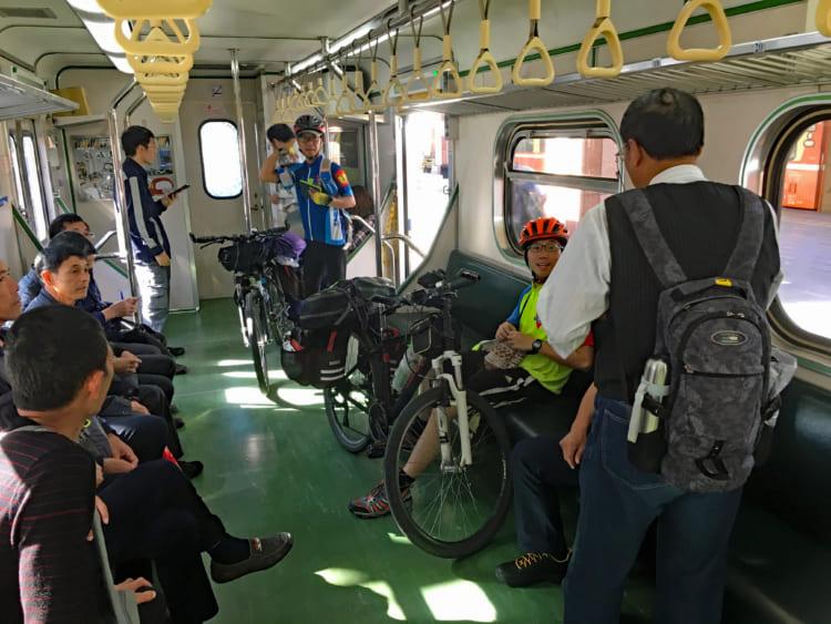 台湾一周自転車旅「環島」 レストランで出されて驚いたもの (6)花蓮~台北