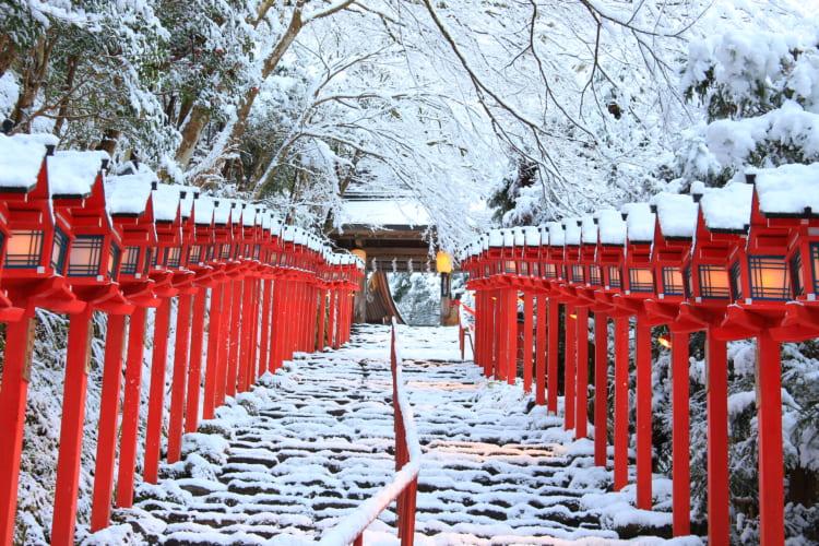 表参道の石段(画像提供:貴船神社)