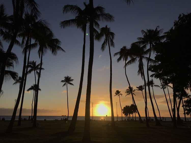 モデル・はな、冬のハワイを初めて体験