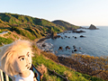日本海の孤島、新潟県・粟島の観光スポットを巡る