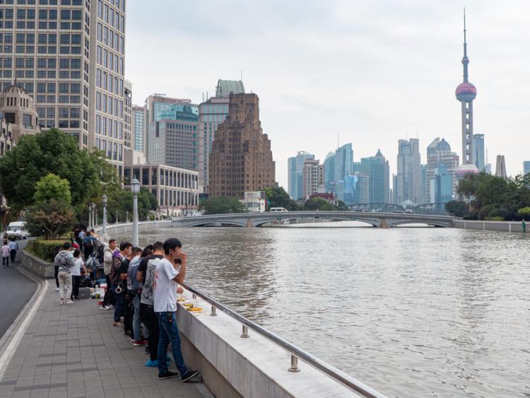 上海。外白渡橋