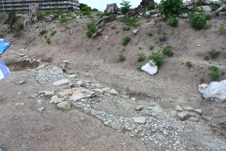 織田信長軍が改築した「付城」が出現!  消滅が惜しまれる神戸・松原城