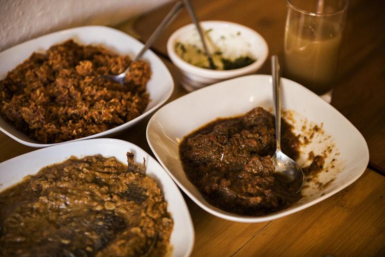 似て非なり ロンドンで食べたアフリカ料理