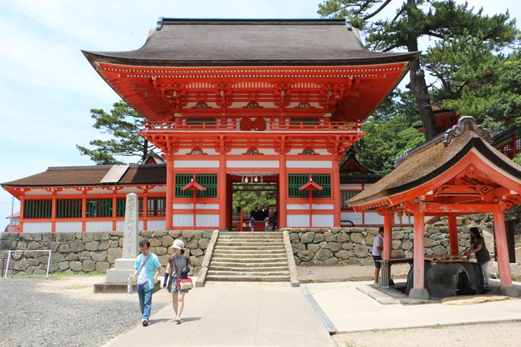 日御碕神社、下の宮