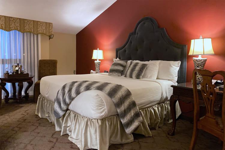「オールド・ストーン・イン・ブティックホテル」の客室