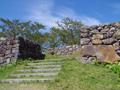 中世の城なのに近世の城を思わせる設計 三重県・赤木城