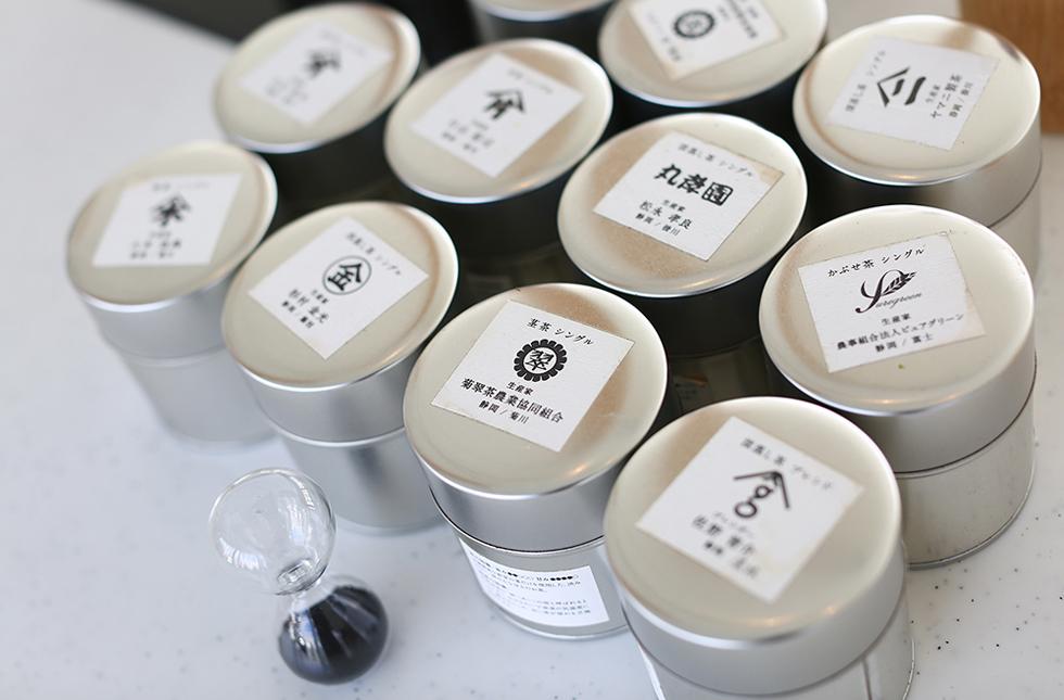 物語のあるお茶を飲む 菊川市「san grams green tea&garden cafe」