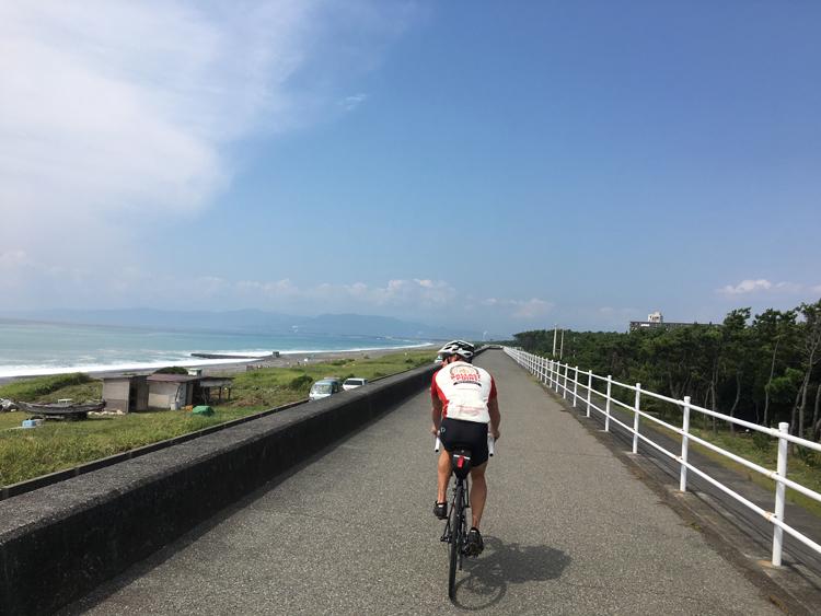 ダンさんと東海道ちょっと自転車旅(2) 茅ケ崎~沼津