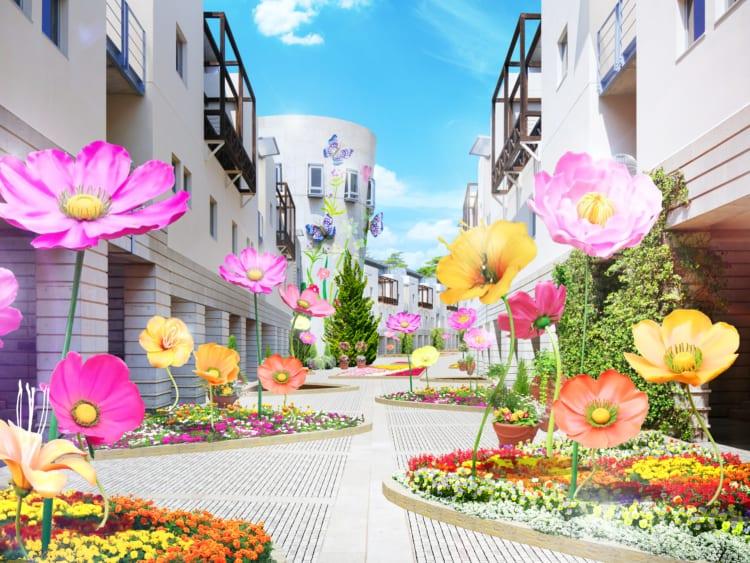 「花咲くリゾナーレ2020」イメージ。リゾナーレ八ヶ岳
