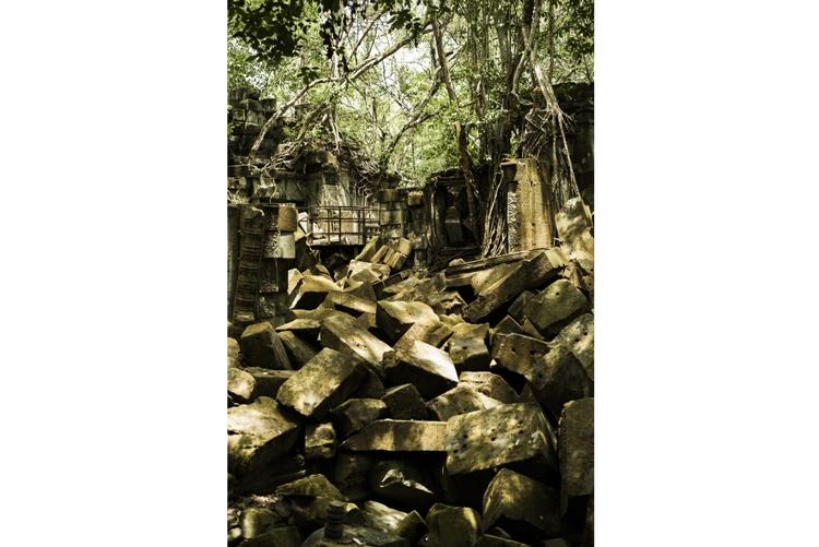 威厳を保つカンボジアの遺跡「タ・プローム」