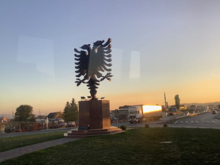 双頭の鷲の構造物