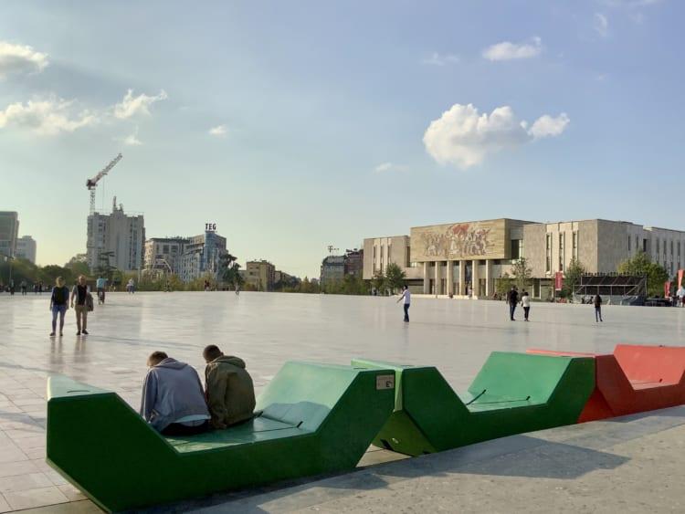 スカンデルベグ広場