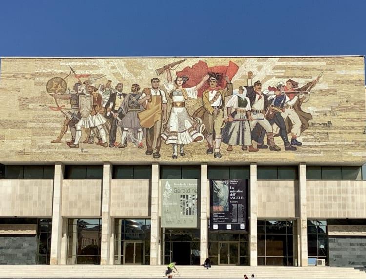 アルバニアの国立歴史博物館