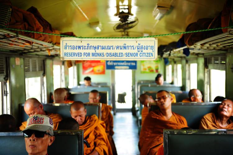 タイの列車