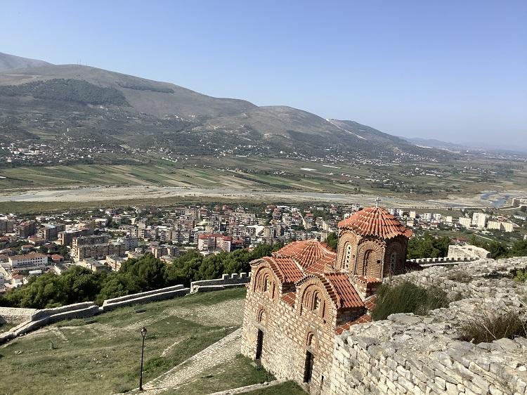 城砦からの景色