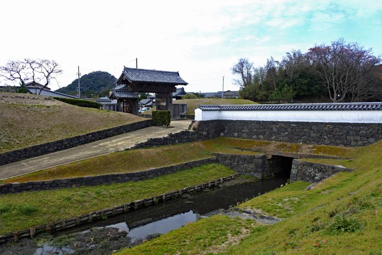 毛利家260年間の居城 萩城(1)