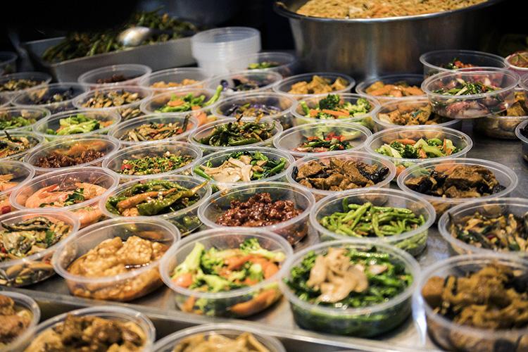充実した台湾の中食文明