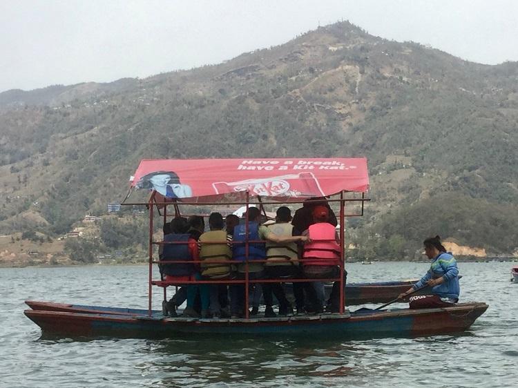 ボート遊覧