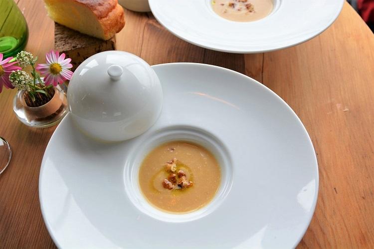 「青木農園の黄かぶのスープ」