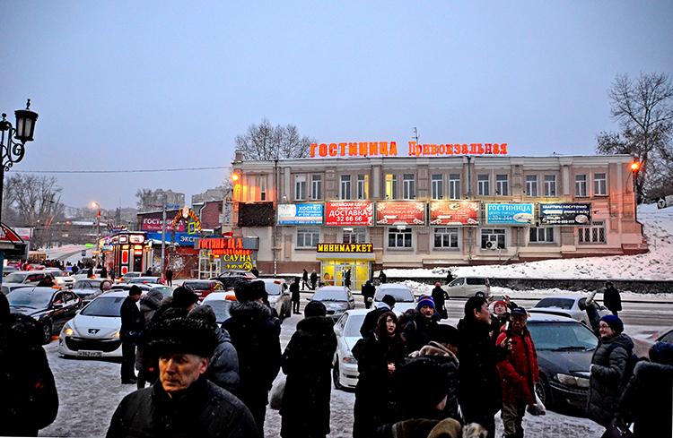 「シベリアのパリ」イルクーツクと迫力の犬ぞり ロシアの旅(7)
