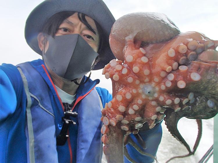 2年連続の爆釣なるか 東京湾のマダコ 伝統の手釣り 指先で乗りを察知せよ