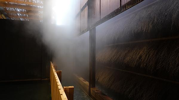 湯冷ます独自装置の迫力!長崎県小浜温泉「伊勢屋」