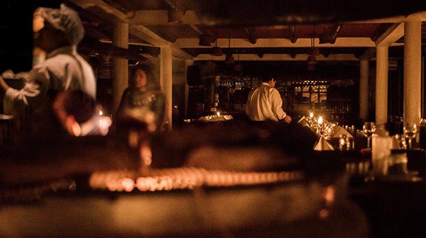 キャンドルで過ごす夜 ペルー・マチュピチュ村