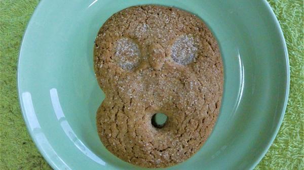このクッキー、ムンクの「叫び」じゃありません!