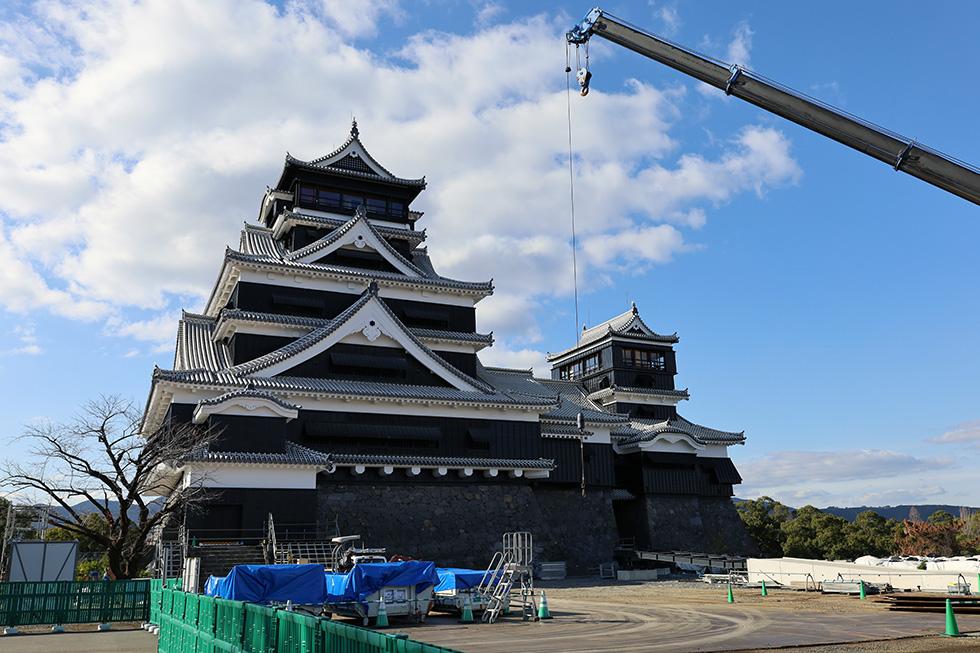天守復旧の熊本城、大手門復元の鳥取城など 2021年注目の城